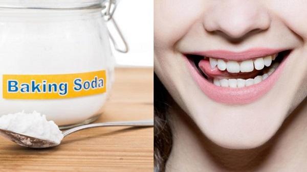 baking soda trắng răng