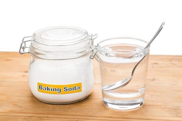 baking soda trị thâm