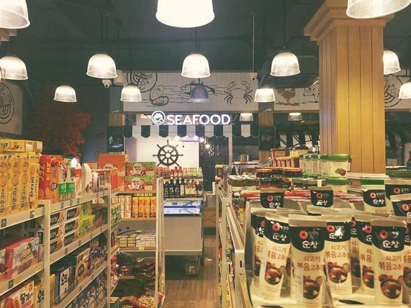 siêu thị hàn quốc ở tphcm