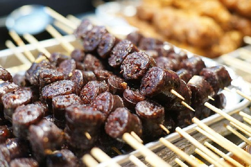 đồ ăn vặt Hàn Quốc