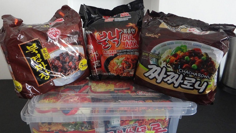 mì tương đen Hàn Quốc