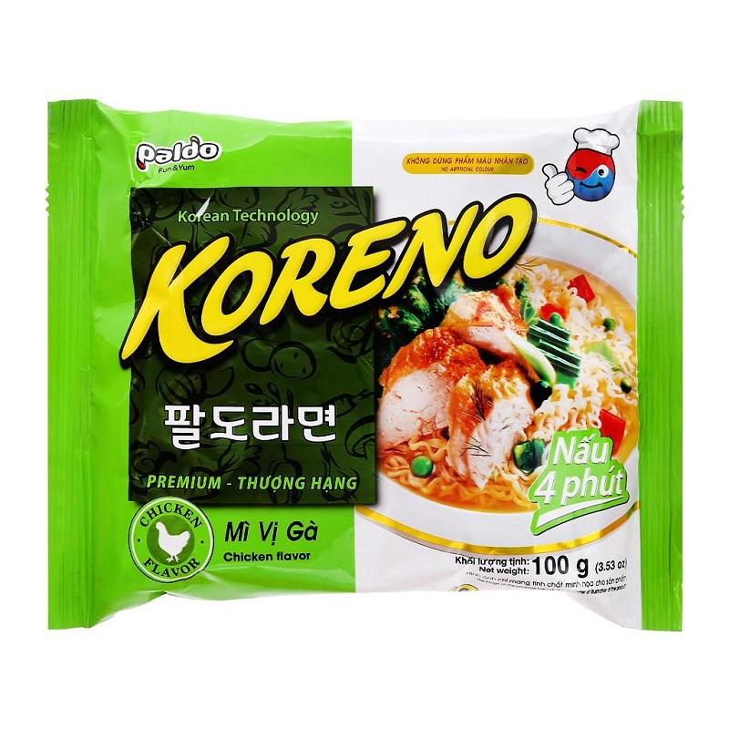 mì gói Hàn Quốc