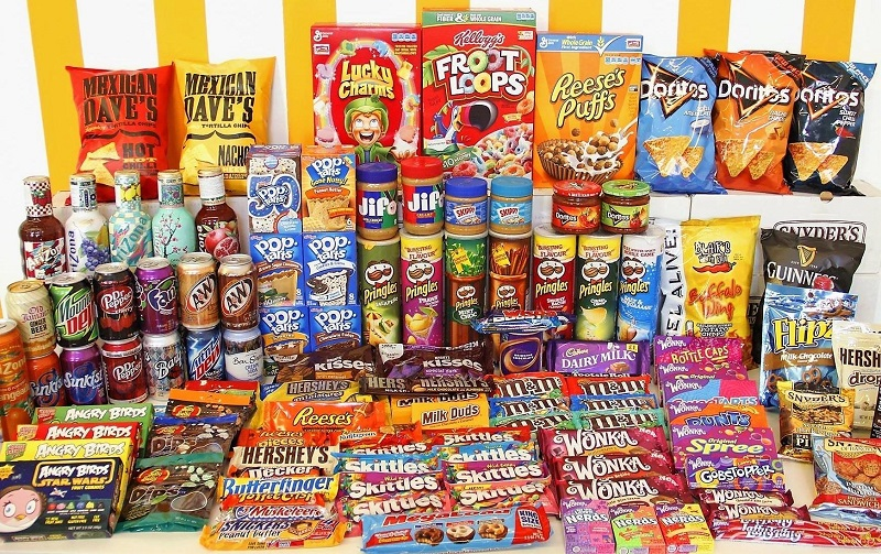 bánh kẹo nhập khẩu