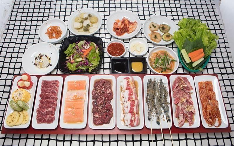 quán ăn Hàn Quốc ngon rẻ ở tphcm