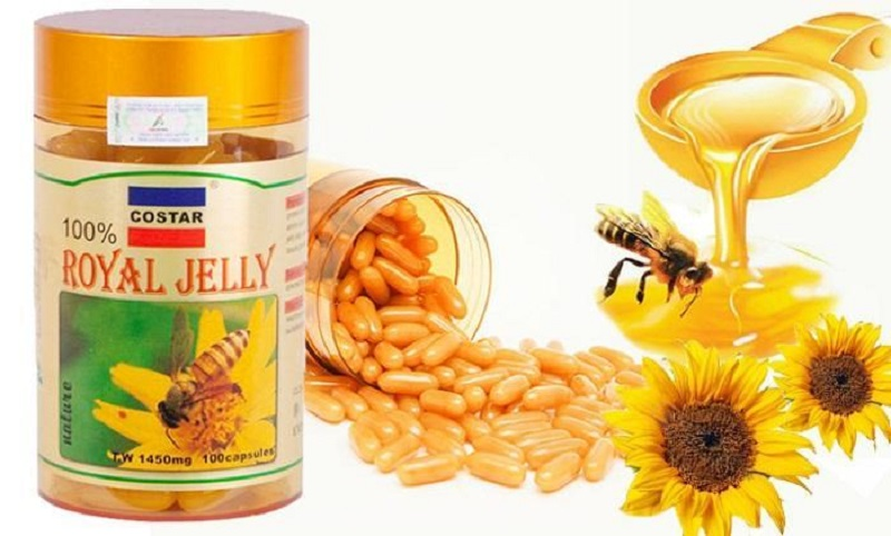 uống sữa ong chúa có tăng cân không
