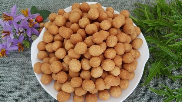 Món ăn vặt từ đậu phộng