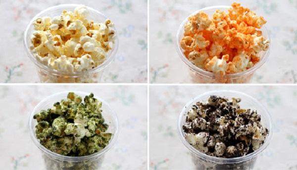 những món ăn khi xem phim