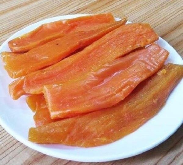 món ăn vặt từ khoai lang